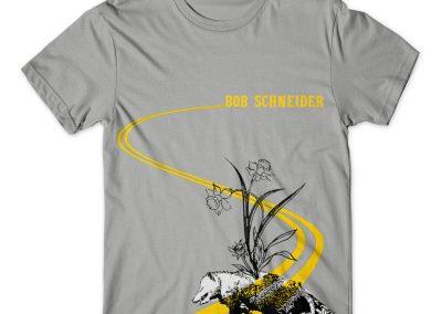 Bob Schneider T-Shirt Design