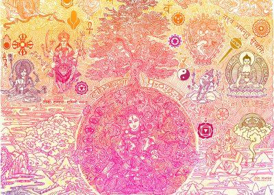 Mural for Cihangir Yoga