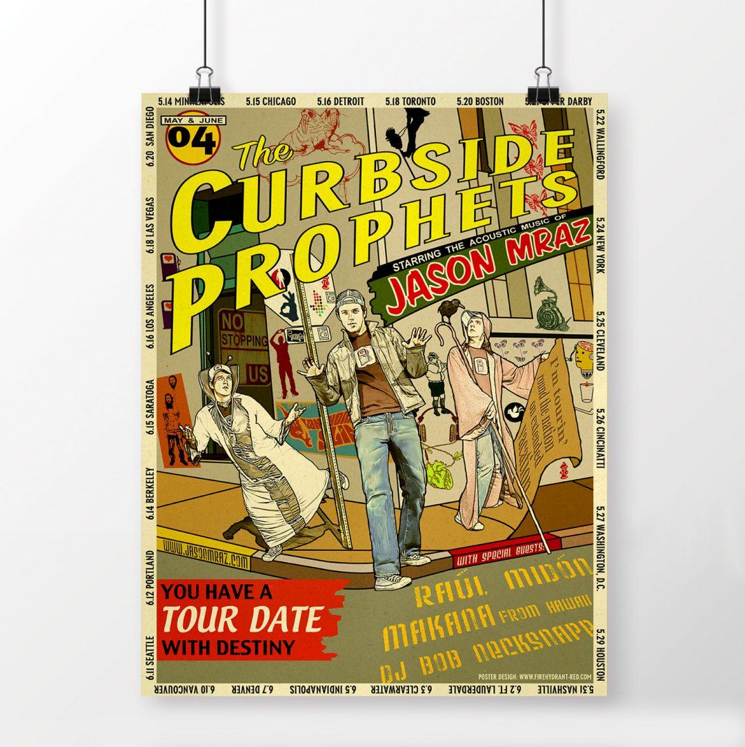 Jason Mraz Tour Posters