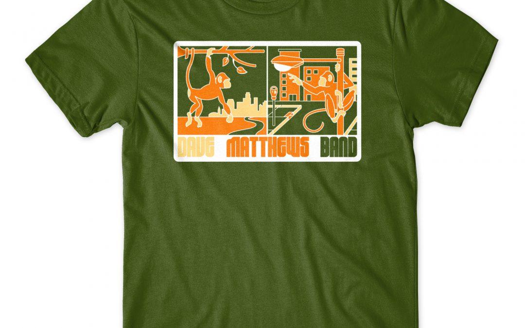 Dave Matthews Band T-Shirt Design