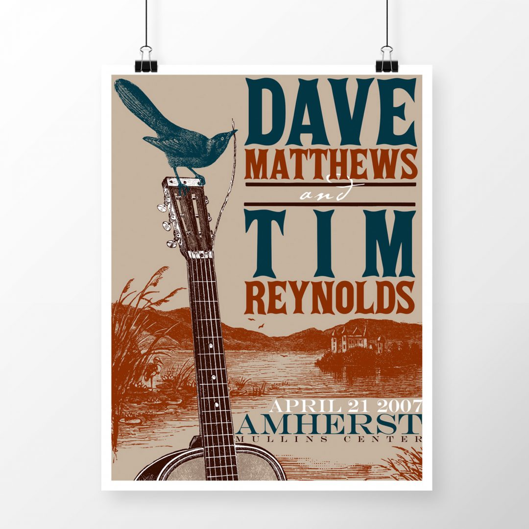 Dave Matthews Tour Posters