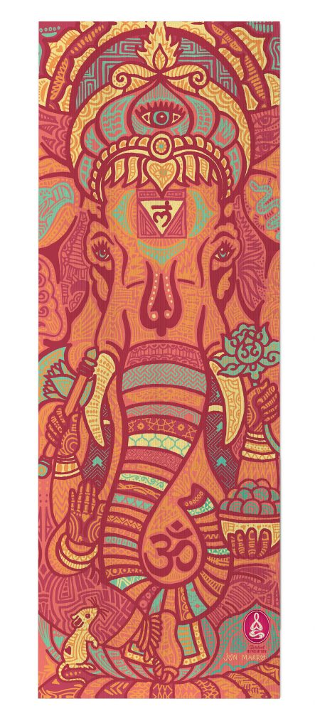 Ganesha Remover Of Obstacles Yoga Mat Jon Marro