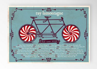 Ray LaMontagne Tour Posters