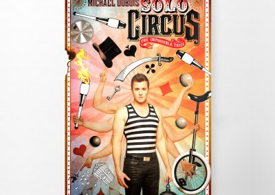 Posters & Promotion for Circus Dubois