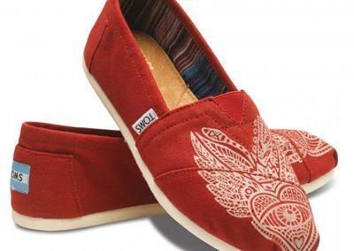 Shoe Design for TOMS Shoes