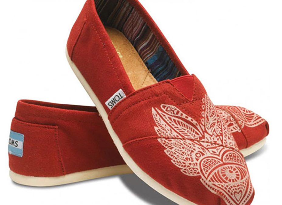 Shoe Design for TOMS Shoes