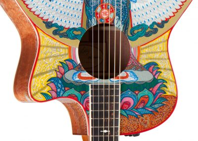 Custom Guitar For Jason Mraz