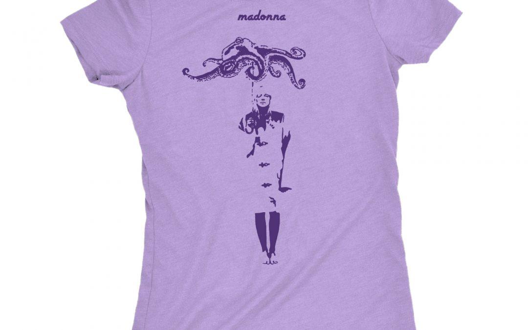 Madonna T-Shirt Design