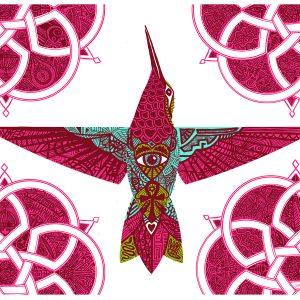 hummingbirdmandala_display