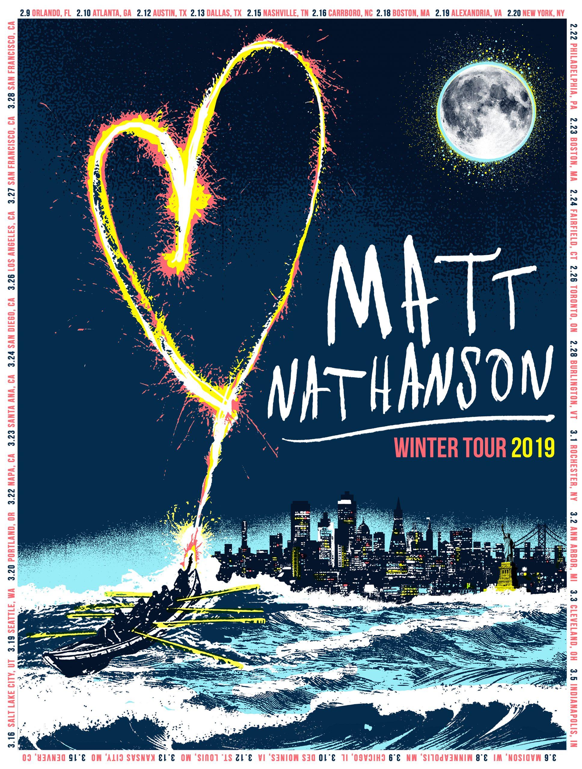 Matt Nathanson Posters