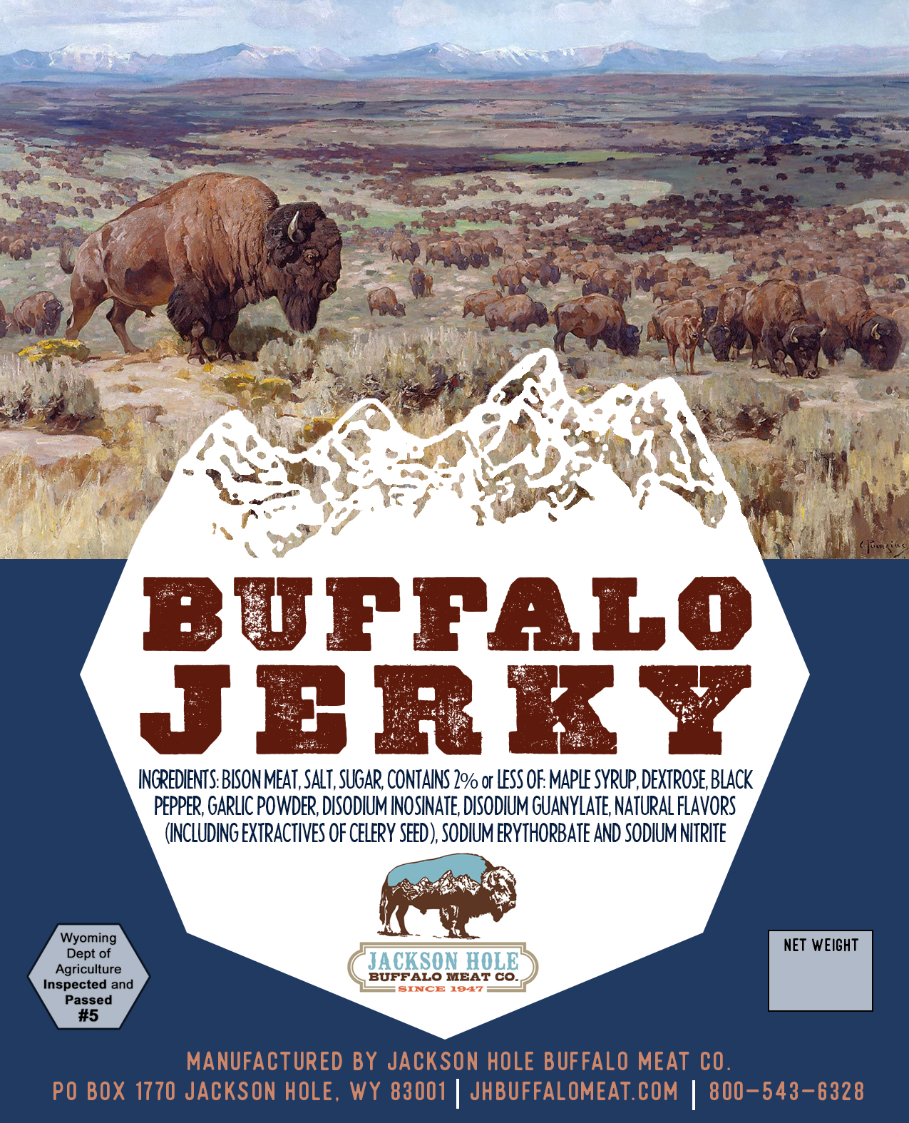 JACKSON HOLE BUFFALO MEAT CO